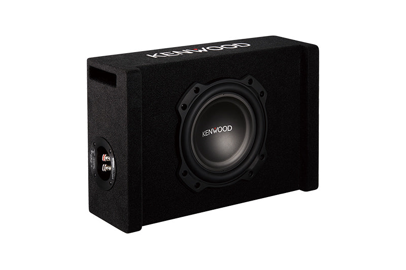 "Kenwood P-W804B 8"" Oversized Subwoofer in Ported Enclosure - Safe and Sound HQ"