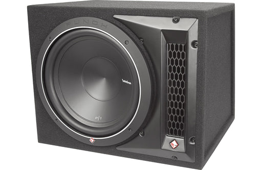 "Rockford Fosgate P1-1X12 Punch Single P1 12"" Loaded Enclosure - Safe and Sound HQ"