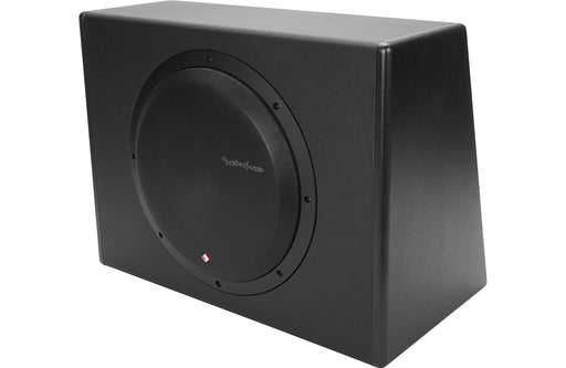 "Rockford Fosgate P300-12 Punch Single 12"" 300 Watt Amplified Subwoofer - Safe and Sound HQ"