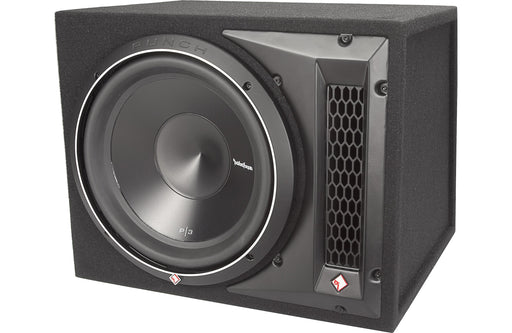 "Rockford Fosgate P3S-1X12 Punch Single P3 12"" Shallow Loaded Enclosure - Safe and Sound HQ"