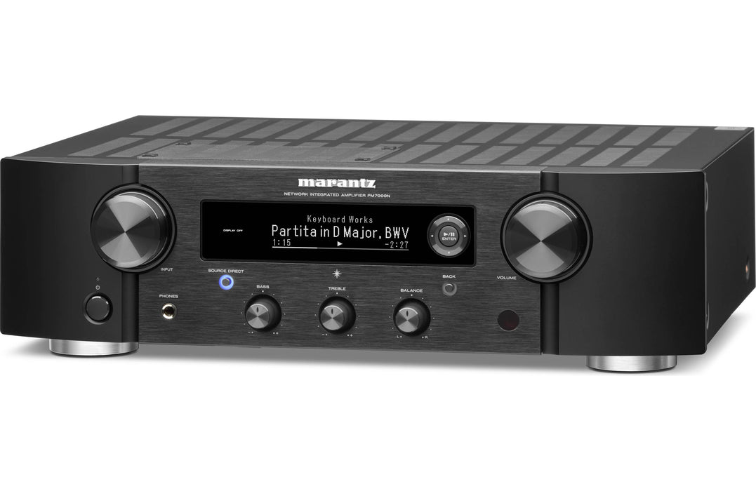 Marantz PM7000N Integrated Stereo Amplifier with HEOS Built-in Open Box - Safe and Sound HQ