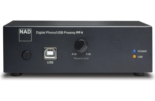 NAD Electronics PP 4 Digital Phono USB Preamplifier Factory Refurbished - Safe and Sound HQ