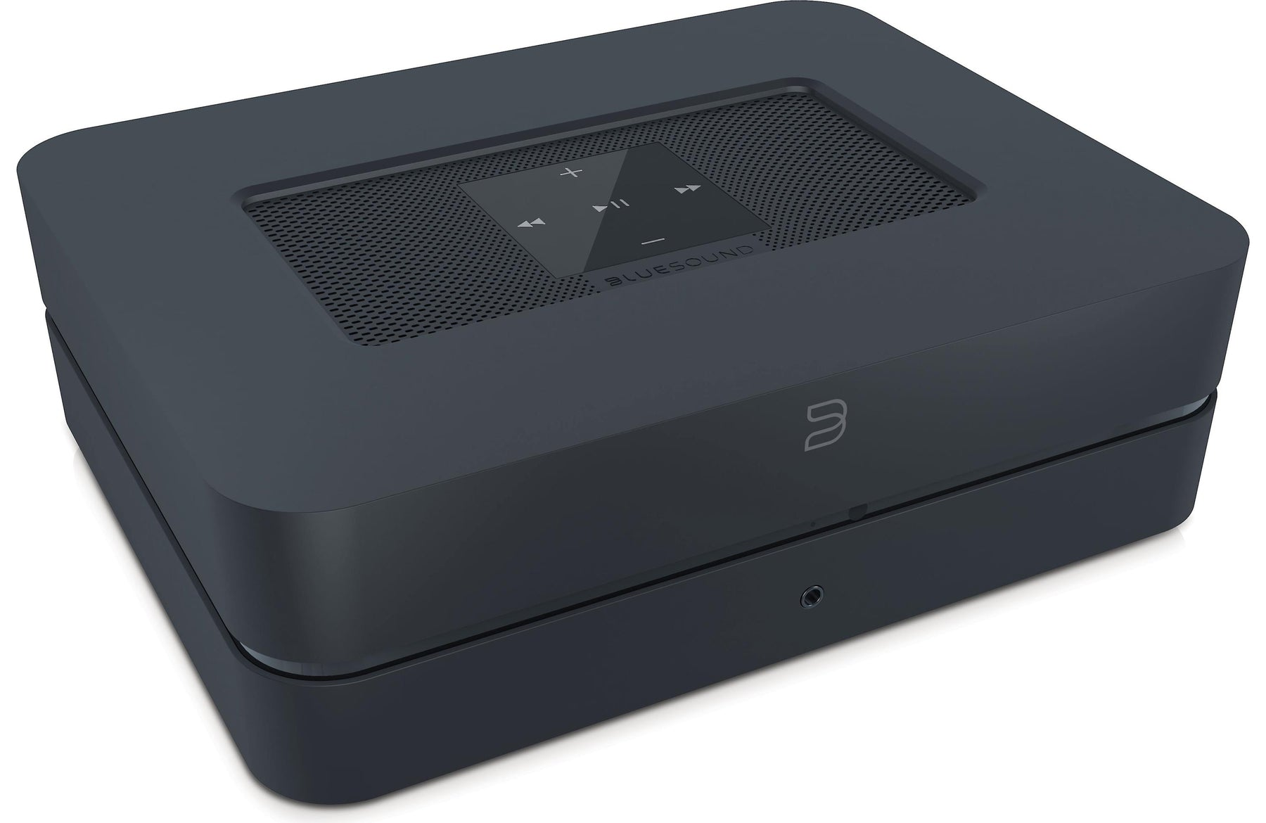 Bluesound Power NODE 2 Streaming Music Player with Built-In Stereo Amplifier, Wi-Fi, and Bluetooth - Safe and Sound HQ