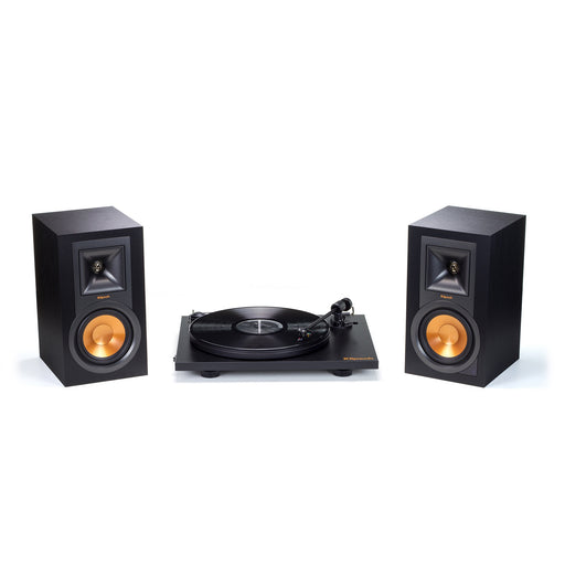 Klipsch R-15PM Powered Monitor Speakers (Pair) and Turntable Bundle Open Box - Safe and Sound HQ