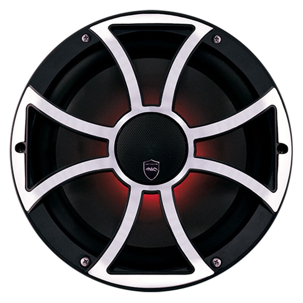 "Wet Sounds REVO CX-10 XS-B-SS S2 10"" High Output 2 Way Marine Coaxial Speaker (Pair) - Safe and Sound HQ"