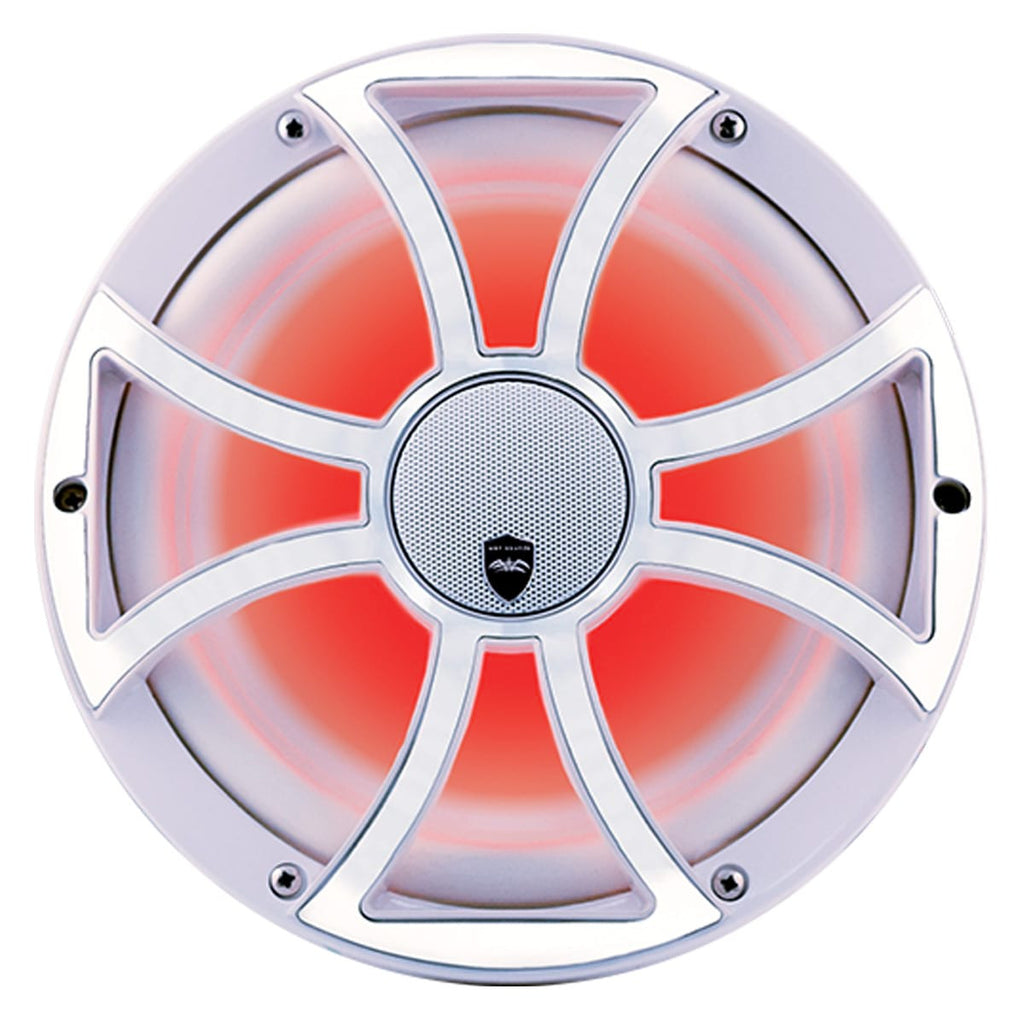 "Wet Sounds REVO CX-10 XS-W-SS S2 10"" High Output 2 Way Marine Coaxial Speaker (Pair) - Safe and Sound HQ"