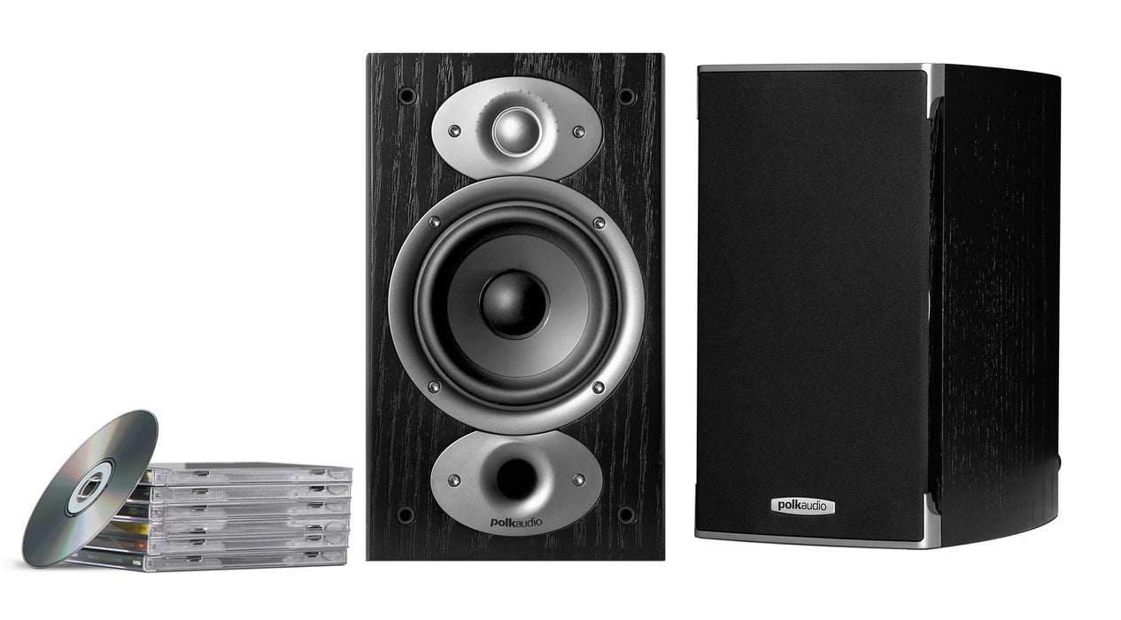 Polk Audio RTiA1 Bookshelf Speakers (Pair) - Safe and Sound HQ