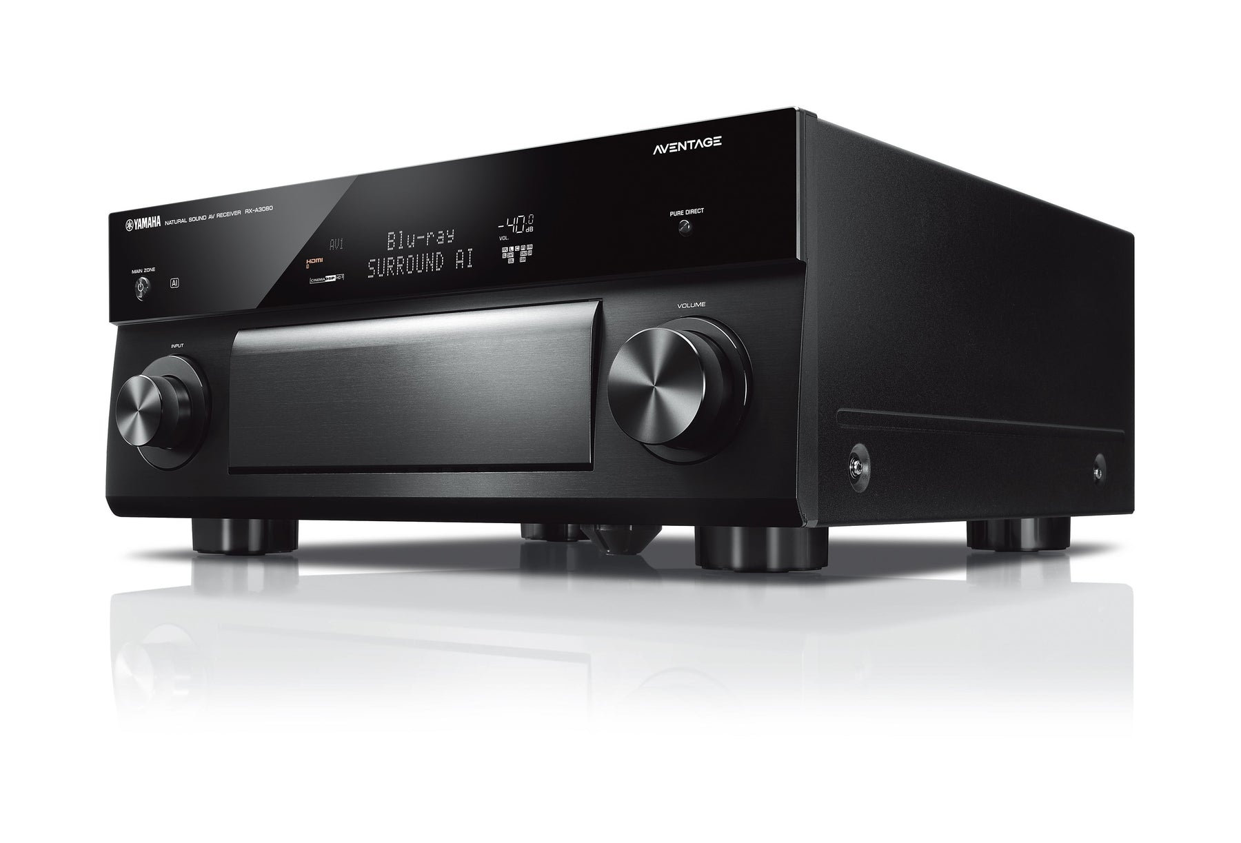 Yamaha RX-A3080 Aventage 9.2 Channel AV Receiver with MusicCast - Safe and Sound HQ