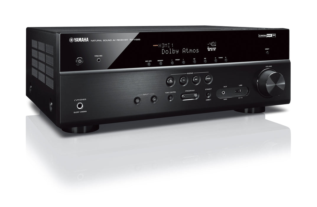 Yamaha RX-V585 7.2 Channel AV Receiver with MusicCast - Safe and Sound HQ