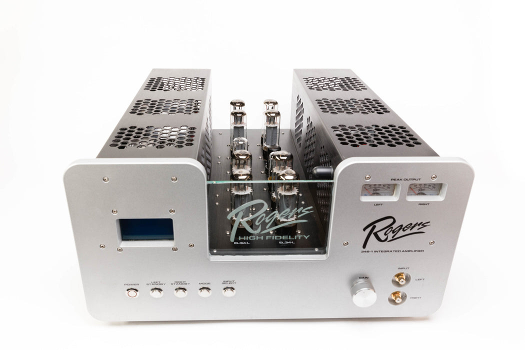 Rogers High Fidelity 34S-1 Eight Tube Class A Integrated Amplifier - Safe and Sound HQ