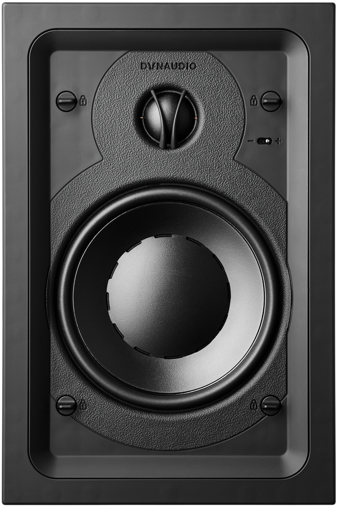 Dynaudio S4-W65 Custom Install Studio Series 2-Way In-Wall Speaker (Each) - Safe and Sound HQ