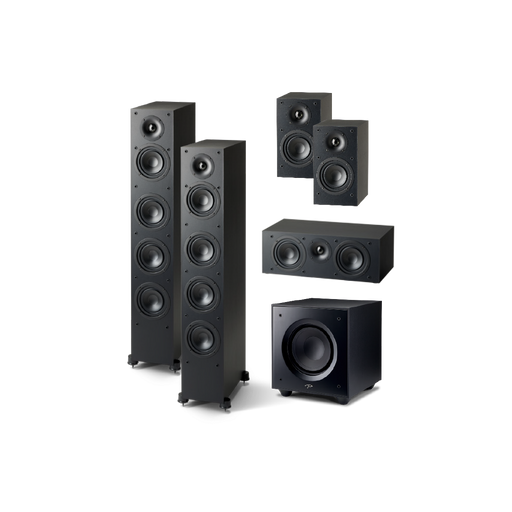 Paradigm Monitor SE 5.1 Home Theater System Bundle - Safe and Sound HQ