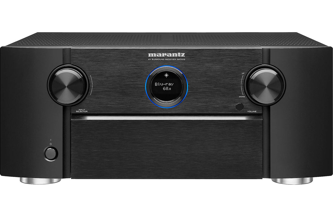 Marantz SR7013 9.2 Channel 4K Ultra HD A/V Receiver with Dolby ATMOS, DTS:X, Auro 3D, Imax Enhanced and HEOS - Safe and Sound HQ
