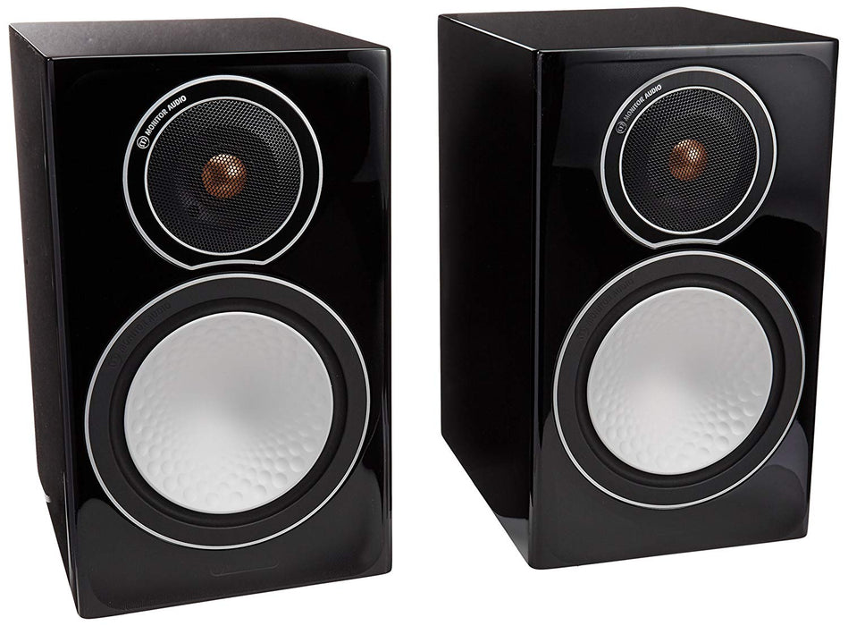 Monitor Audio Silver 1 Silver Series Bookshelf Speaker (Pair) - Safe and Sound HQ
