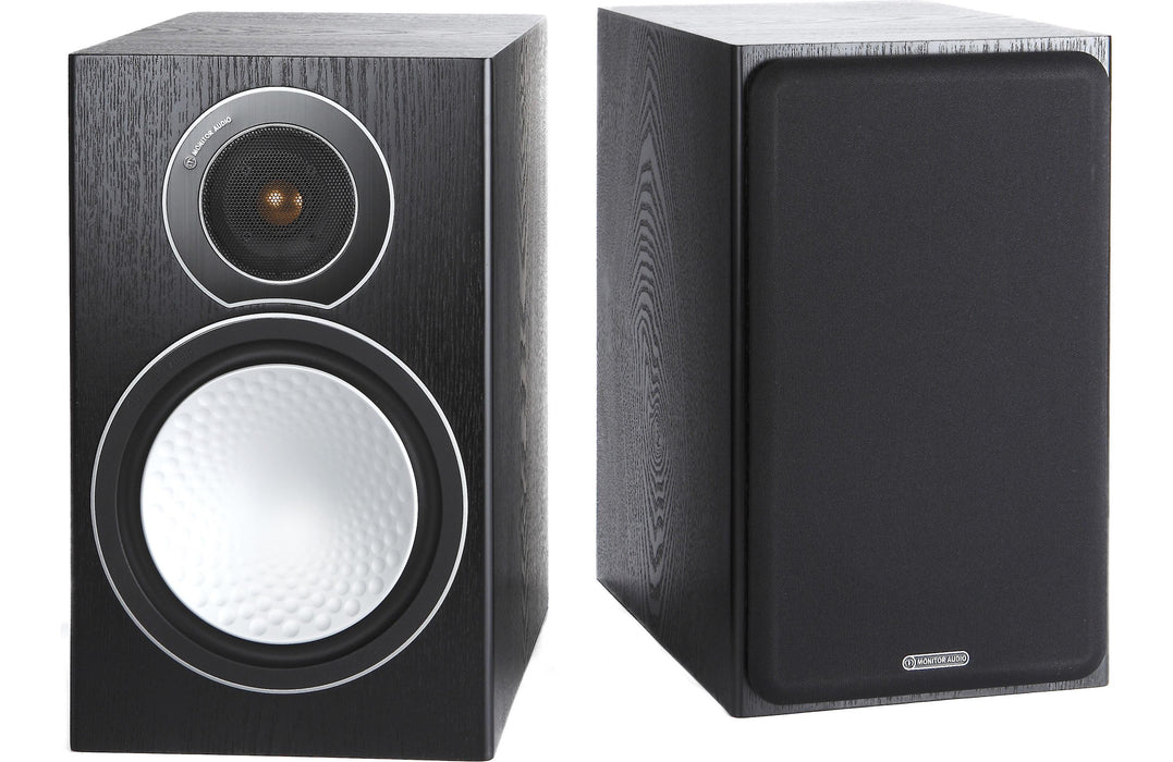 Monitor Audio Silver 2 Silver Series Bookshelf Speaker Open Box (Pair) - Safe and Sound HQ
