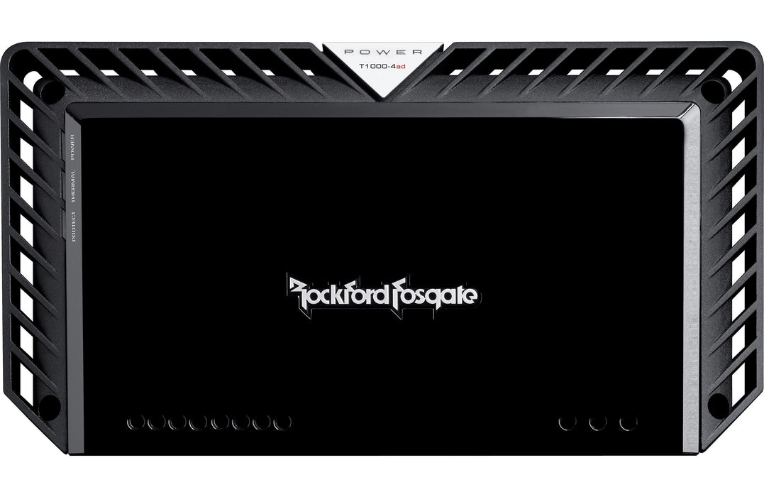 Rockford Fosgate T1000-4AD Power 1000 Watt Class-AD Full Range 4 Channel Amplifier - Safe and Sound HQ
