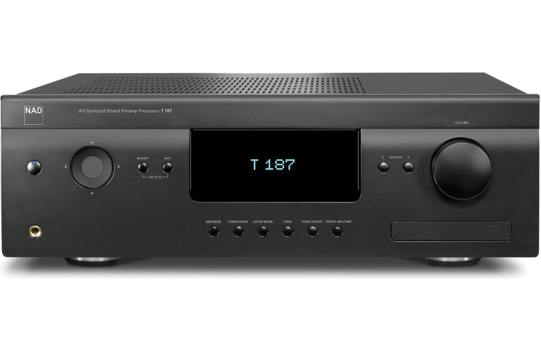 NAD Electronics T 187 Surround Sound Preamp Processor - Safe and Sound HQ