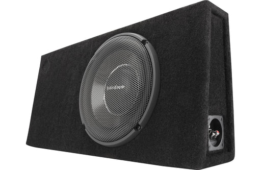 "Rockford Fosgate T1S-1X12 Power Single 12"" T1 Slim Sealed Loaded Enclosure - Safe and Sound HQ"