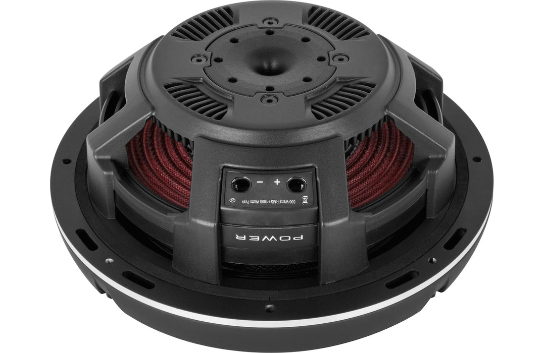 "Rockford Fosgate T1S1-10 Power 10"" T1 Slim Single 1 Ohm Subwoofer - Safe and Sound HQ"