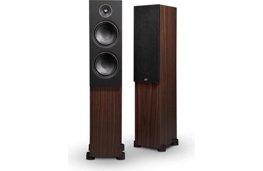 PSB Alpha T20 Floorstanding Speaker Walnut Open Box (Pair) - Safe and Sound HQ