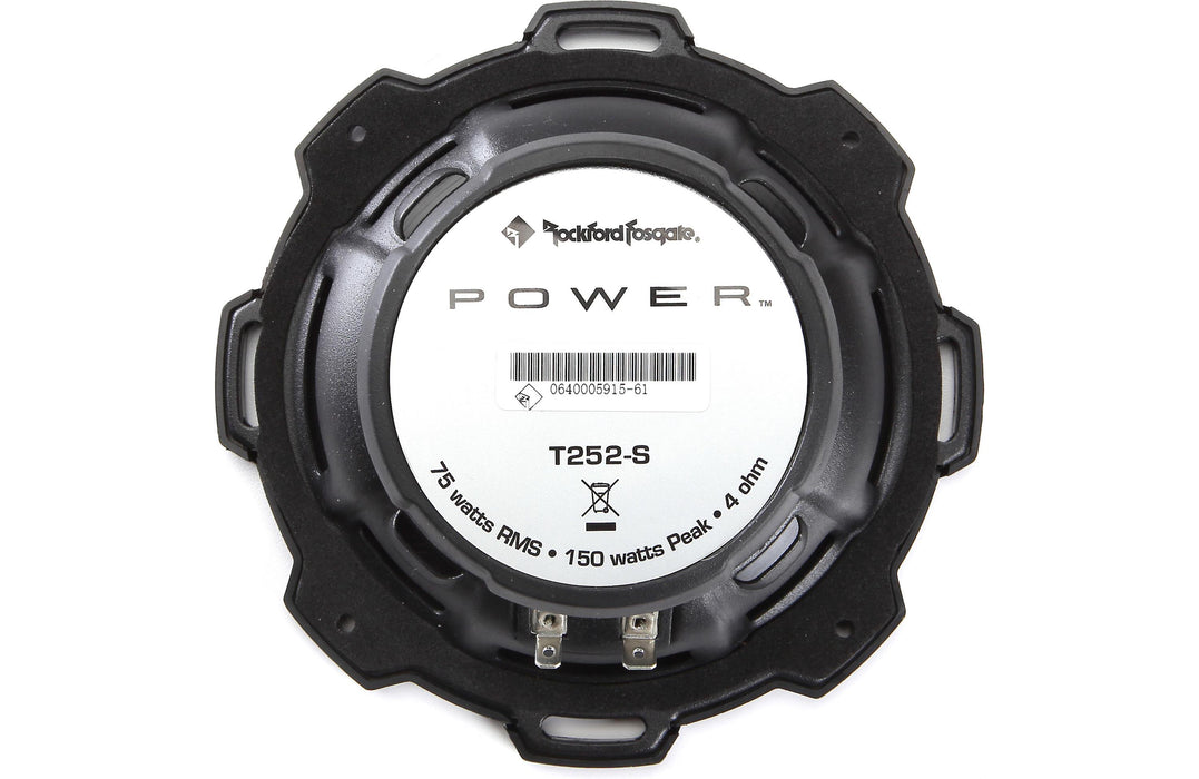 "Rockford Fosgate T252-S Power 5.25"" Aluminum Component Speaker (Pair) - Safe and Sound HQ"