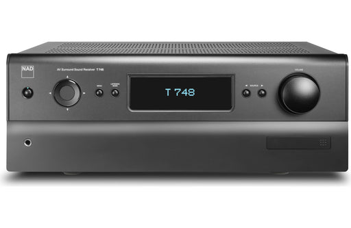 NAD Electronics T 748 V2 7.1 Channel A/V Receiver Factory Refurbished - Safe and Sound HQ