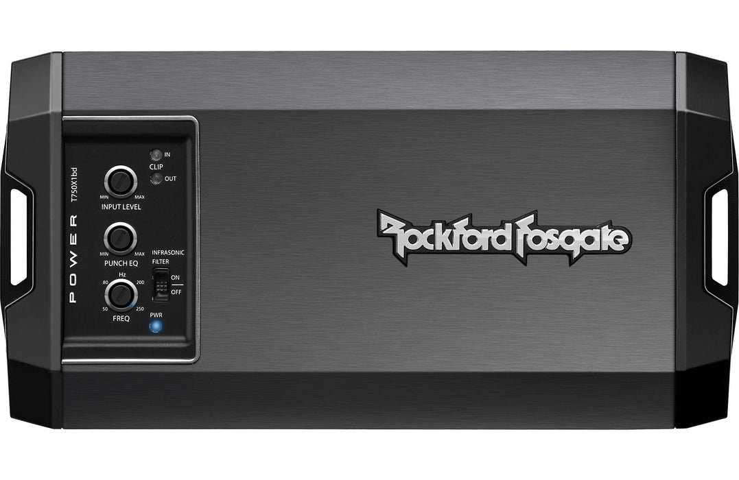 Rockford Fosgate T750X1BD Power 750 Watt Class-BD Mono Amplifier - Safe and Sound HQ