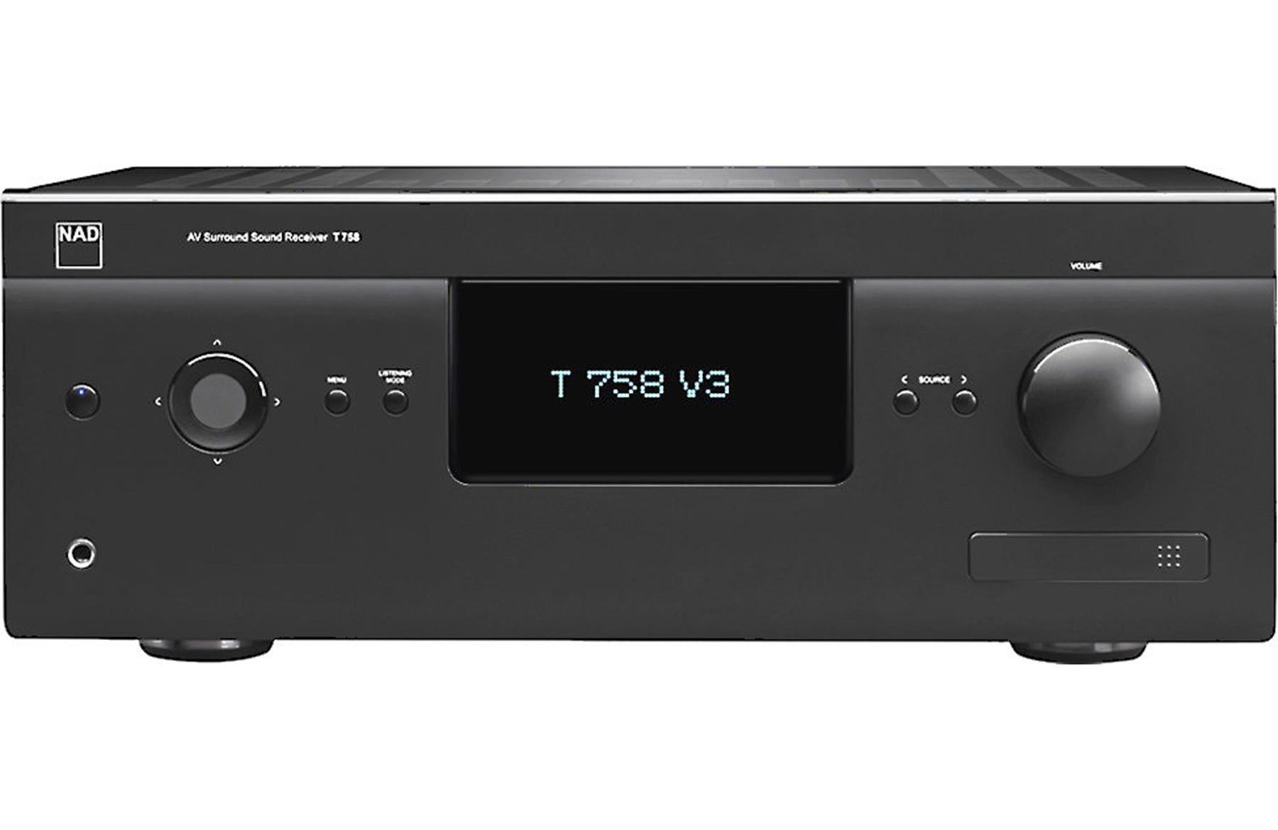 NAD Electronics T 758 V3 7.2 Channel A/V Surround Sound Receiver Open Box - Safe and Sound HQ