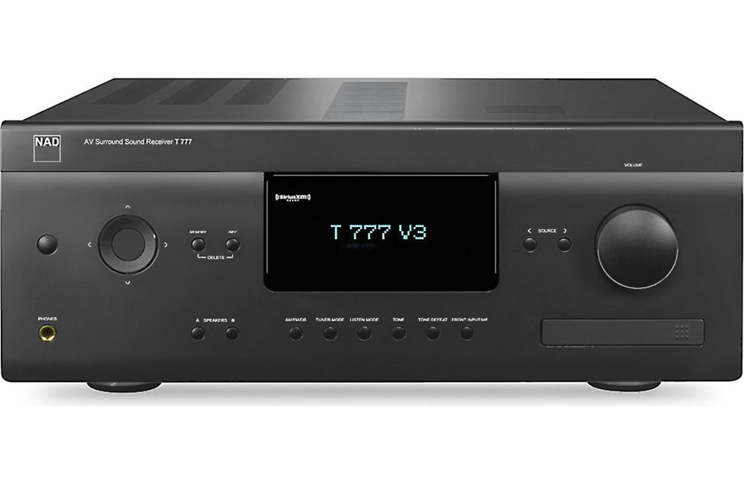 NAD Electronics T 777 V3 7.1 Channel A/V Receiver - Safe and Sound HQ