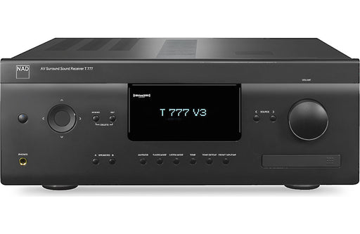 NAD Electronics T 777 V3 7.1 Channel A/V Receiver Factory Refurbished - Safe and Sound HQ