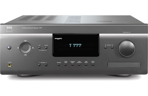 NAD Electronics T 777 A/V Surround Sound Receiver with VM300 4K Video Module Factory Refurbished - Safe and Sound HQ