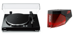 Yamaha TT-N503 MusicCast Vinyl 500 Wi-Fi Turntable with Ortofon 2M Red Phono Cartridge Bundle - Safe and Sound HQ