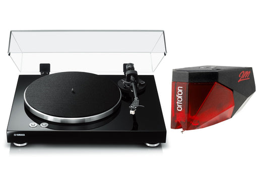 Yamaha TT-S303 Vinyl Belt-Drive Turntable with Ortofon 2M Red Phono Cartridge Bundle - Safe and Sound HQ