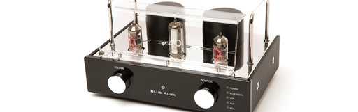 Blue Aura v40 Blackline Integrated Amplifier with Bluetooth - Safe and Sound HQ