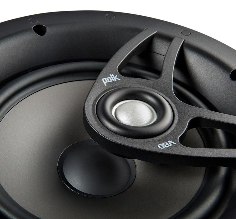 Polk Audio V80 Vanishing V Series High Performance In-Ceiling Speaker (Each) - Safe and Sound HQ