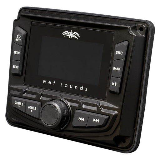 Wet Sounds WS-MC-2 AM/FM/Weather Band Tuner with RBDS - Safe and Sound HQ