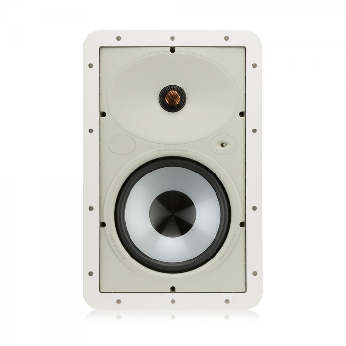"Monitor Audio WT180 Trimless 100 8"" In-Wall Speaker (Each) - Safe and Sound HQ"