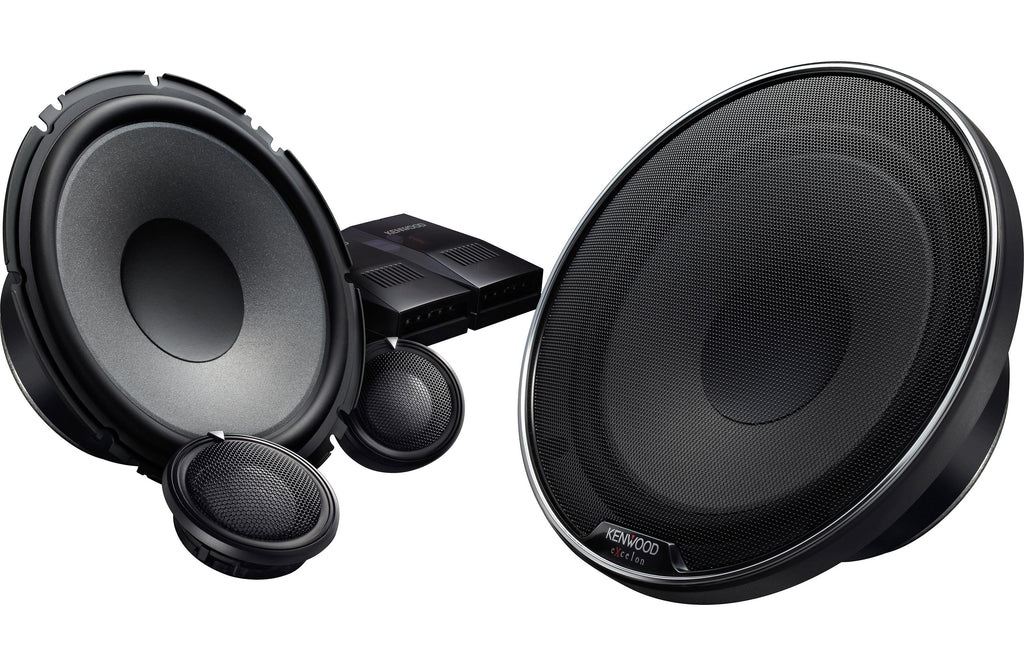 "Kenwood Excelon XR-1800P XR-Series 7"" Custom Fit Component Speaker (Pair) - Safe and Sound HQ"