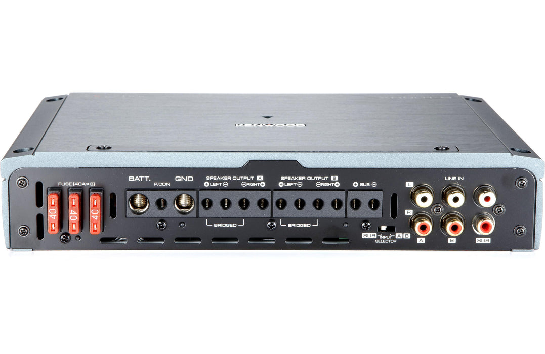 Kenwood Excelon XR901-5 XR Series Class D 5 Channel Power Amplifier - Safe and Sound HQ