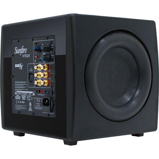"Sunfire XTEQ 8 Dual 8"" High Performance Powered Subwoofer Open Box - Safe and Sound HQ"