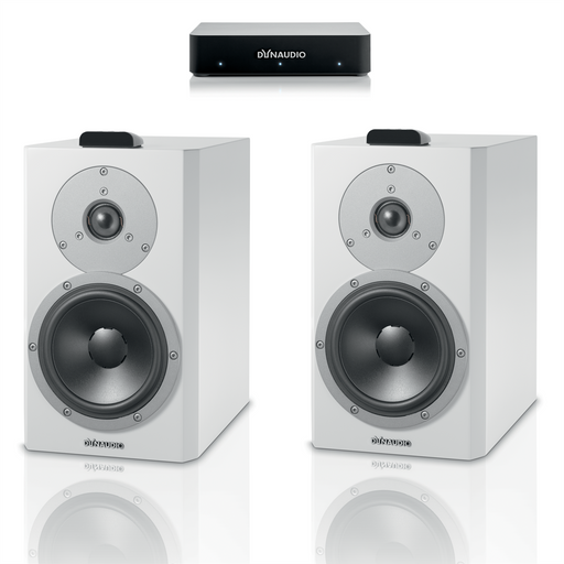 Dynaudio Xeo 4 Wireless Bookshelf Speakers Pair with Connect Wireless Transmitter - Safe and Sound HQ