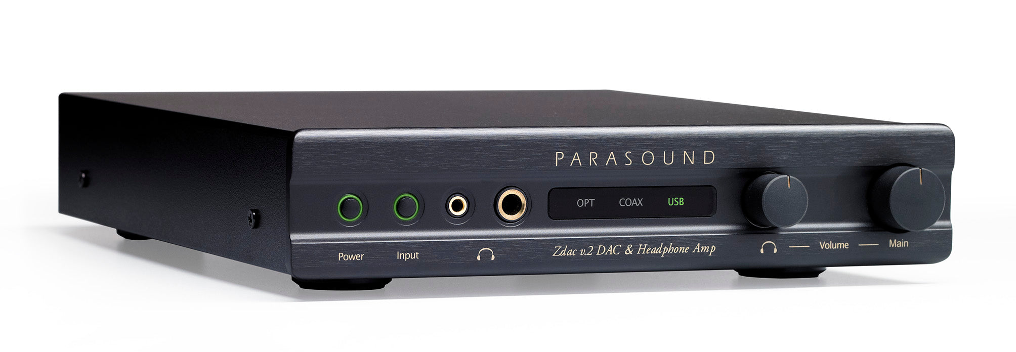Parasound ZDac V.2 DAC and Headphone Amplifier - Safe and Sound HQ