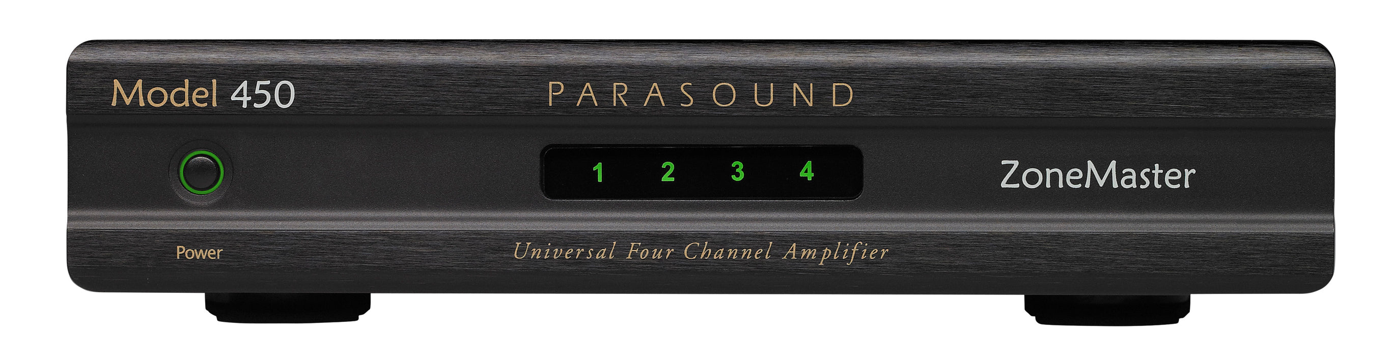 Parasound ZoneMaster Model 450 Universal 4 Channel 8 Speaker Amplifier B-Stock - Safe and Sound HQ