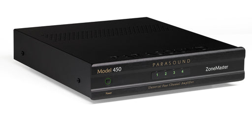 Parasound ZoneMaster Model 450 Universal 4 Channel 8 Speaker Amplifier B-Stock Full Warranty - Safe and Sound HQ