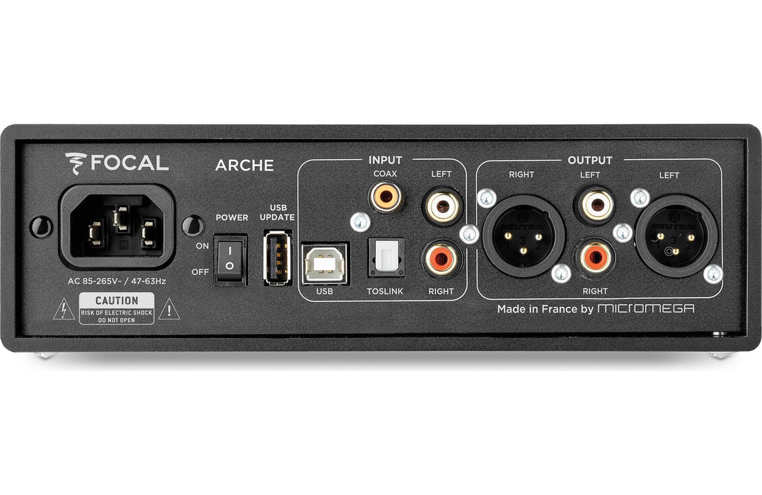 Focal Arche Headphone Amplifier and DAC - Safe and Sound HQ