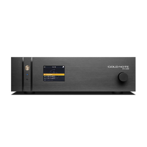 Gold Note DS-1000 MKII Digital Audio DAC and Streamer - Safe and Sound HQ