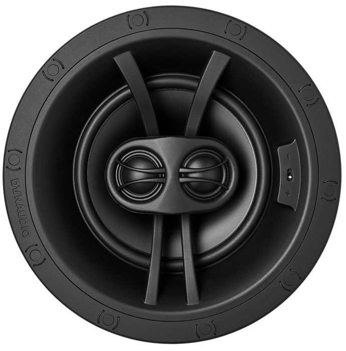Dynaudio P4-DVD65 Slimline In-Ceiling Speaker with 6.5 Inch woofer and Dual Voice-Coil Tweeter (Each) - Safe and Sound HQ