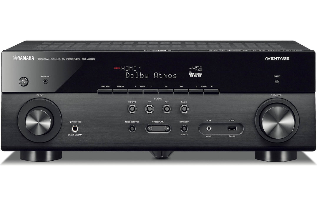 Yamaha RX-A680 Aventage 7.2 Channel AV Receiver with MusicCast - Safe and Sound HQ
