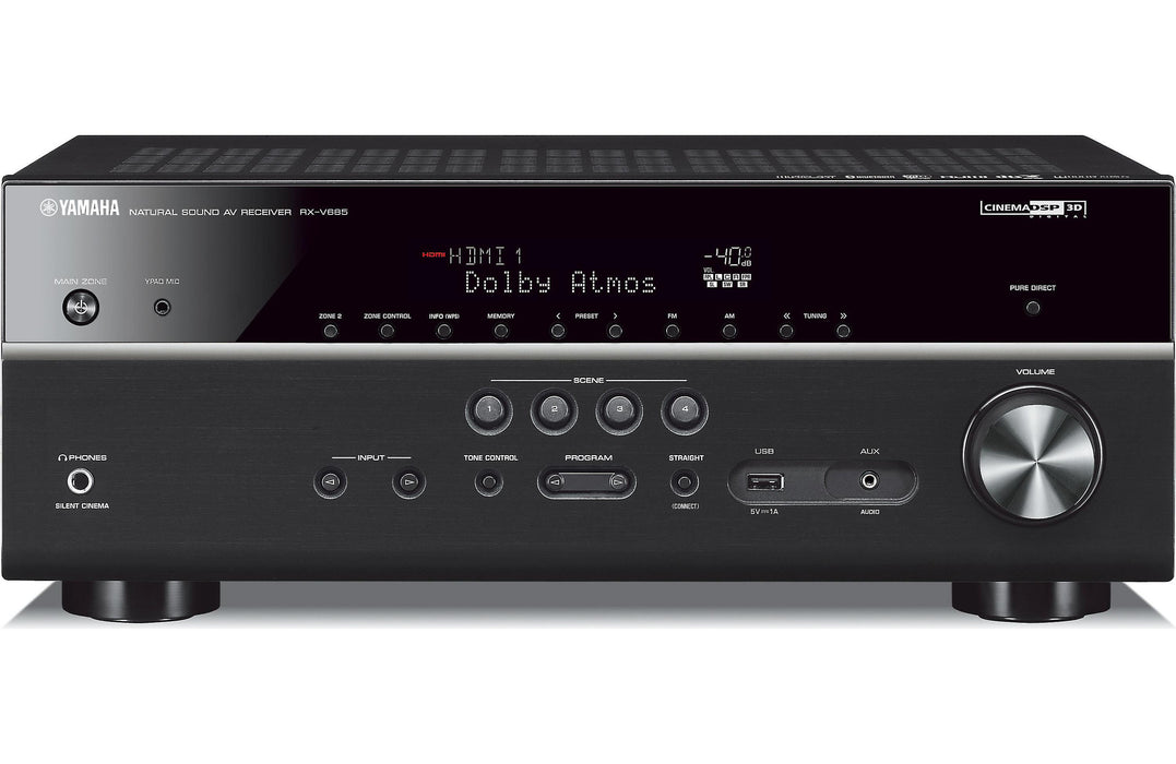 Yamaha RX-V685 7.2 Channel AV Receiver with MusicCast - Safe and Sound HQ
