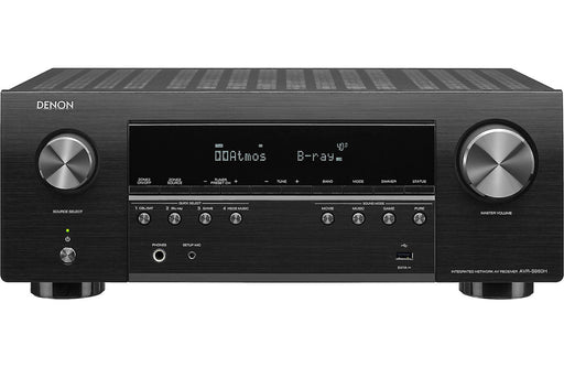 Denon AVR-S960H 7.2 Channel 8K Ultra HD AV Receiver with Dolby Atmos and Voice Control - Safe and Sound HQ